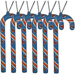 New York Knicks Candy Cane Ornament Set