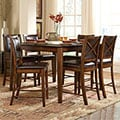 Frisco Bay Burnished Oak 5-piece Counte