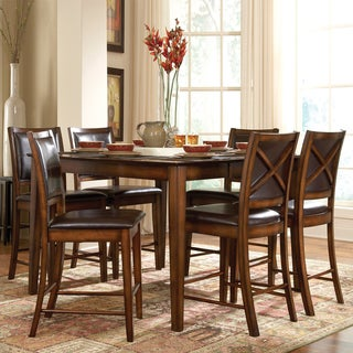 Tribecca Home Frisco Bay Burnished Oak 5-piece Counte
