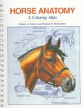 Horse Anatomy: A Coloring Atlas (Spiral bound)