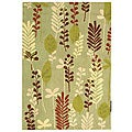 Safavieh Handmade Ferns Light Green Wool Rug (3'9 x 5'9)