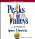 Peaks and Valleys: Making Good and Bad Times Work for You--At Work and in Life (CD-Audio)