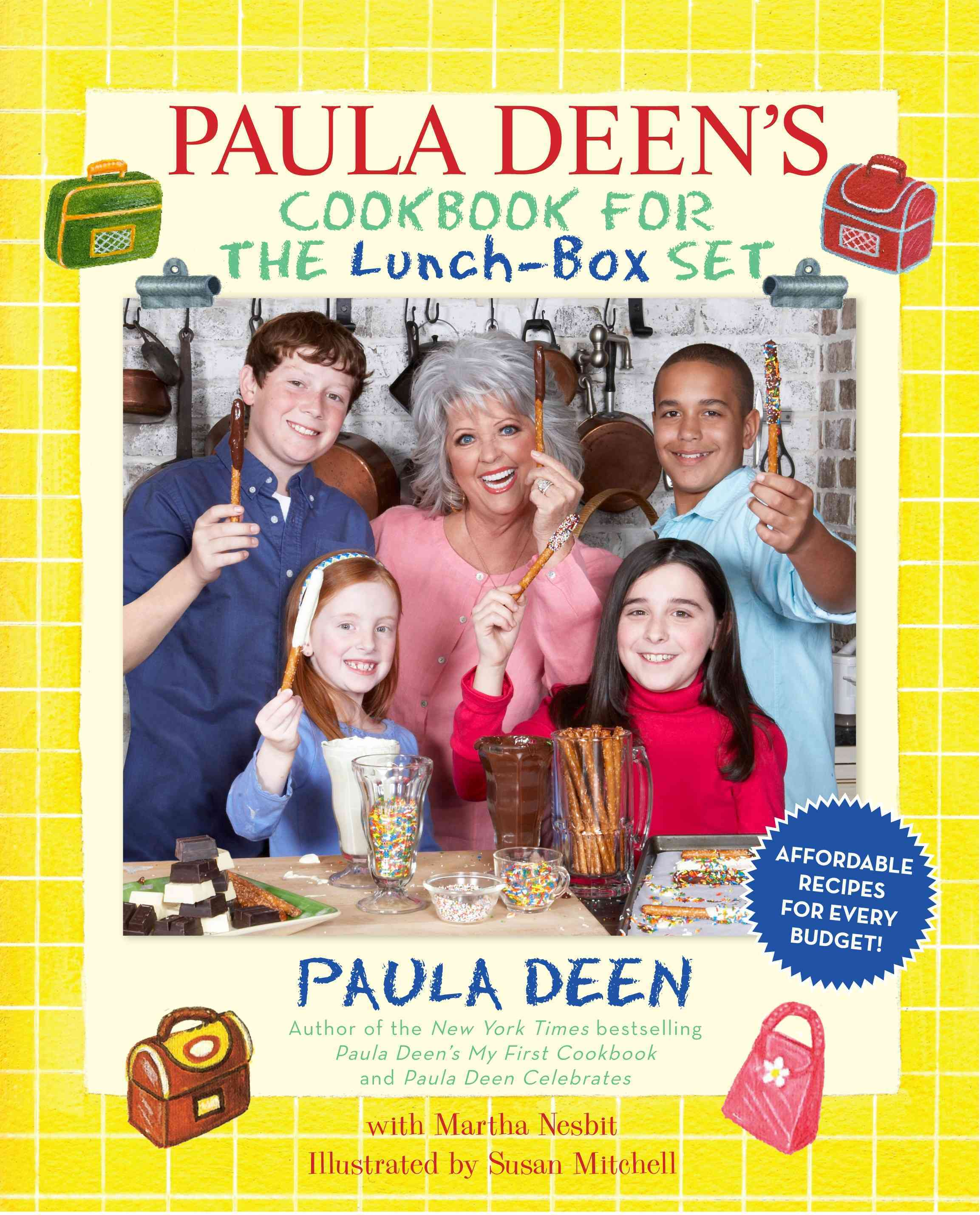 Paula Deen's Cookbook for the Lunch-Box Set (Hardcover)