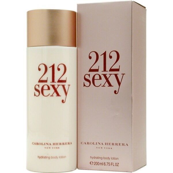 212 Sexy Women by Carolina Herrera 6.7-ounce Body Lotion