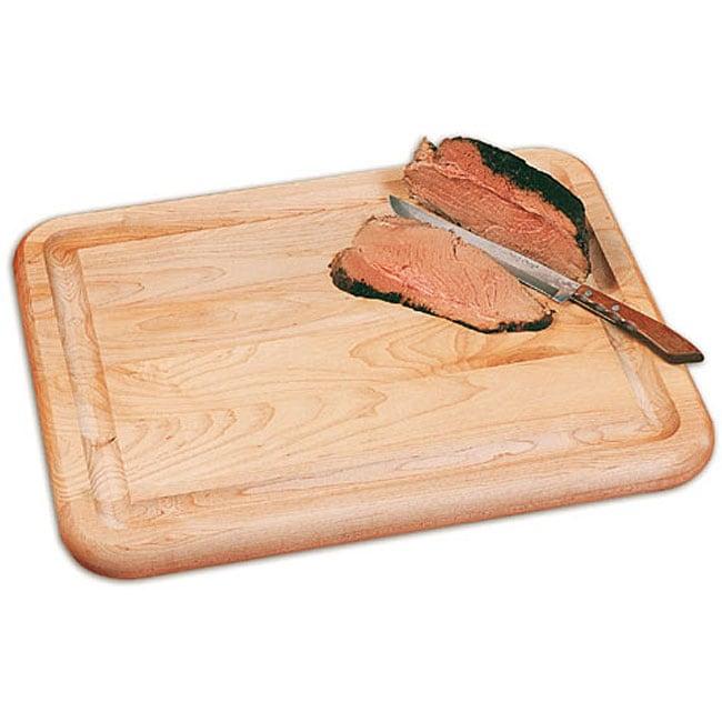 Reversible Carver Flat Grain Cutting Board