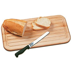 Grooved Flat Grain Bread Cutting Board