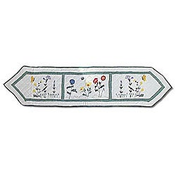 Wildflower 72-inch Table Runner