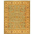Safavieh Handmade Antiquities Treasure Teal/ Beige Wool Rug (5' x 8')