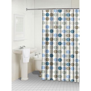 Dots Polyester Shower Curtain