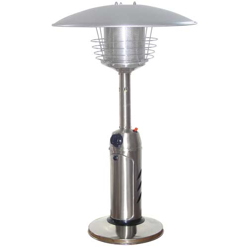 Stainless Steel Tabletop Patio Heater