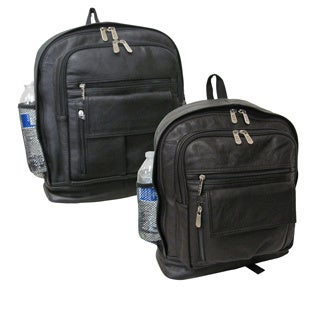 Amerileather Mid-sized Leather Backpack