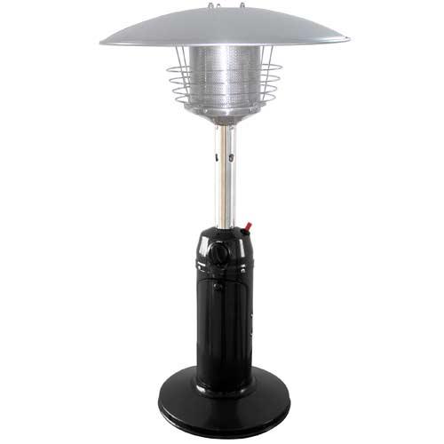 Black Stainless Steel Tabletop Patio Heater