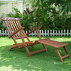 Angled Outdoor Lounge Chair