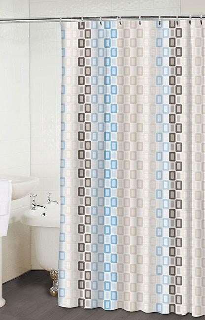 Tempo Linen Shower Curtain