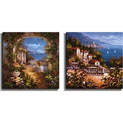 Gabriela 'Mediterranean Arches' Canvas 2-print Set
