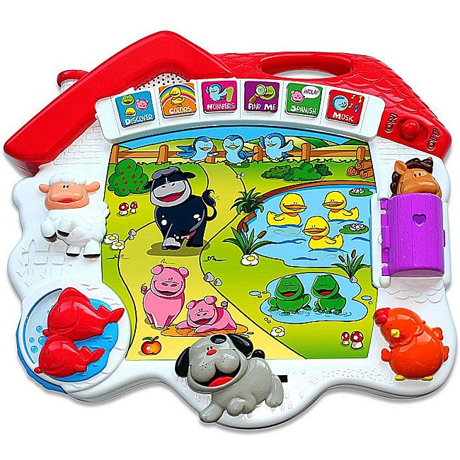 Kidz Delight Explore the Farm Educational 5 Animal-themed Toy