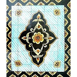 Architectural Gazvin Ceramic Tiles (Set of 30)