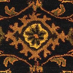Safavieh Handmade Golden Jaipur Black/ Gold Wool Runner (2'3 x 4')
