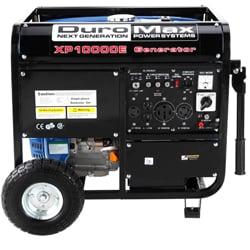 DuroMax 10,000-watt 16Hp Electric Start Generator