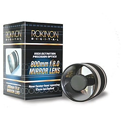 Rokinon 800mm F/8.0 Mirror Lens for Nikon Mount