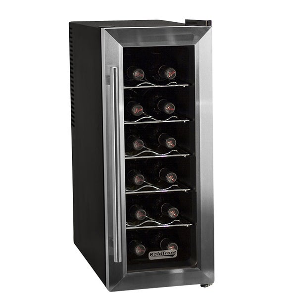 Koldfront TWR121SS 12-bottle Thermoelectric Wine Cooler