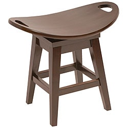 Throroughbred Espresso Dining Stool
