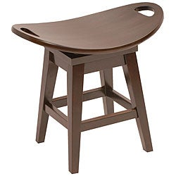Throroughbred Espresso Stool