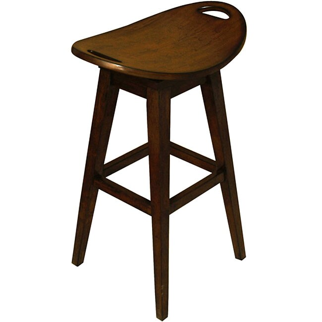 Throroughbred Espresso Bar Stool 11657788 Overstock