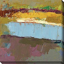 Maxine Price 'Untold Stories I' Gallery-wrapped Canvas Art