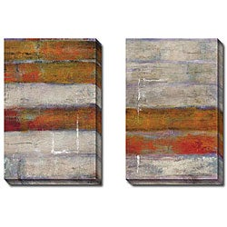 Bellows 'Immodest I and II' 2-piece Canvas Art Set