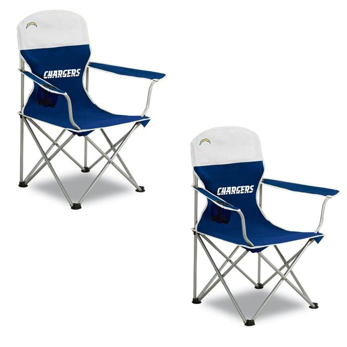 San Diego Chargers Arm Chair Set Pack Of 2 Overstock
