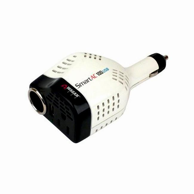 Wagan EL2405 100-watt Smart DC Socket AC USB Inverter (Refurbished)