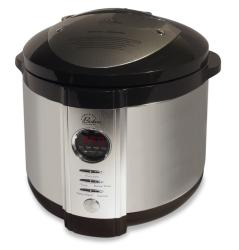 Wolfgang Puck Electric 5-quart Black Pressure Cooker with WP Recipes (Refurbished)