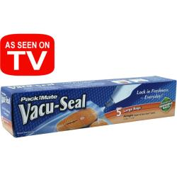 Pack-mate Vacu-seal Reusable Bags