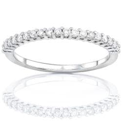 14k Gold Women's 1/4ct TDW Diamond Wedding Band