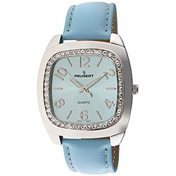 Peugeot Women's Blue Strap Watch