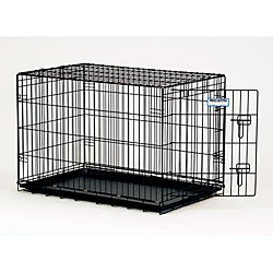 ProValu 2000 Black 1-door Pet Crate