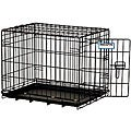 Precision Pet ProValu Black 3000 1-door Collapsible Portable Crate