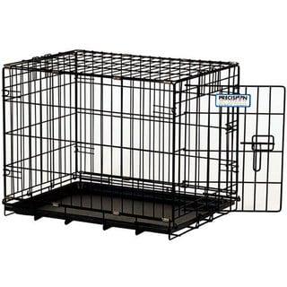 Precision Pet ProValu Black 3000 1-door Collapsible Portable Crate