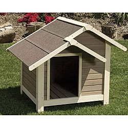Outback Twin Peaks Dog House, Large 45x40x37