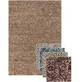 Hand-woven Mandara New Zealand Shag Wool Rug (2'6 x 7'6)
