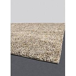 Hand-woven Mandara Wool Rug (7'9 Round)