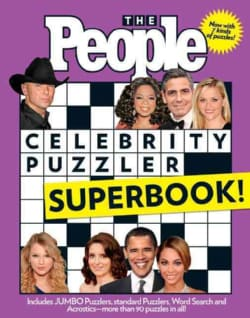 The People Celebrity Puzzler Superbook! (Paperback)