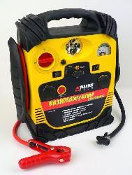 Car 500-amp Battery Jumper with Air Compressor