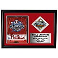 Phillies World Series 2008 12x18 Custom Framed Print