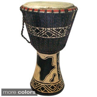 Handmade Djembe Drum (Ghana)