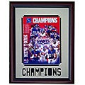 New York Giants 2007 Champs 11x14 Deluxe Framed Print