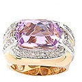 review detail Michael Valitutti 14k Gold 3/8ct TDW Diamond Kunzite Ring (I, SI)