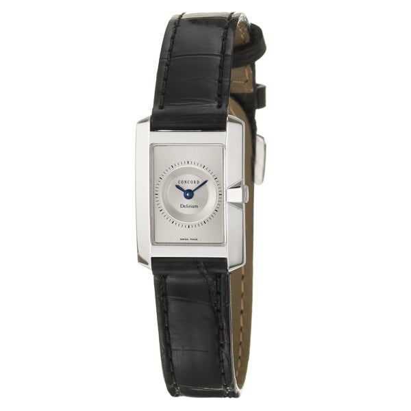 Concord Delirium Women's 18k White Gold Watch