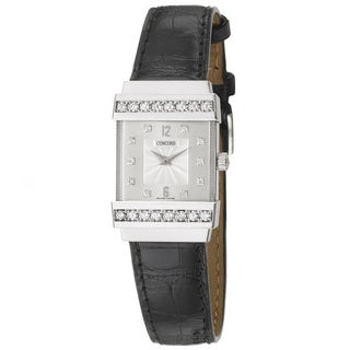 Concord Crystale Women's 18k White Gold Watch
